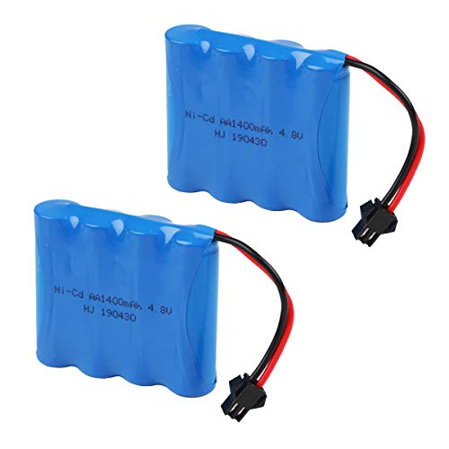 Makerfire Crazepony-UK 4.8V 1400mAh Battery Pack SM Plug for RC Car Spare Parts Accessories