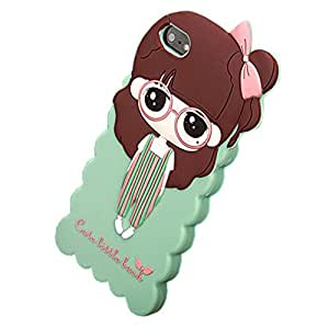 Cartoon Cute Little Bush Soft Silicone Case Cover For Iphone 5 /5S