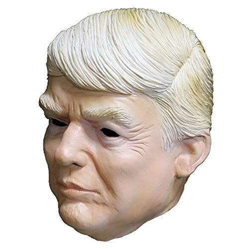 MASCARELLO Donald Trump Latex Maske Berühmte amerikanische Präsidentin Partei Masken Männer Kopf Halloween Kostüm Masken (Berühmte Halloween Kostüm)