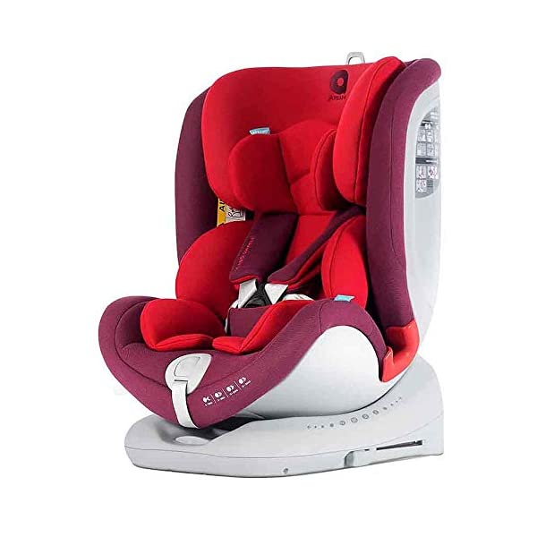 Apramo All Stage Infant Car Chairs, Group 0/1/2/3, Red (Chilli Red) APRAMO  1