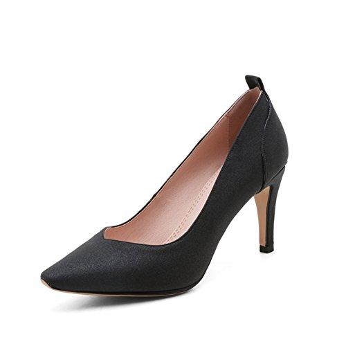 Spring fashion shoes/Asakuchi a fait des chaussures à talons/pied de talons de chaussures de travail A