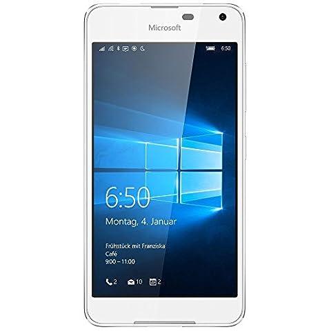 Microsoft Lumia 650 Smartphone (5 Zoll (12,7 cm) Touch-Display, 16 GB Speicher, Windows 10) weiß