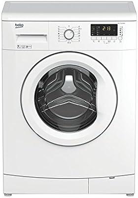Beko WCC7502BW0 Independiente Carga frontal 7kg 1000RPM A+++ Color blanco - Lavadora (Independiente, Carga frontal, A+++, A, C, Color blanco)