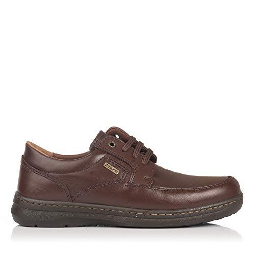 LUISETTI 24803 Zapato Cordon Punteado Hombre Marron