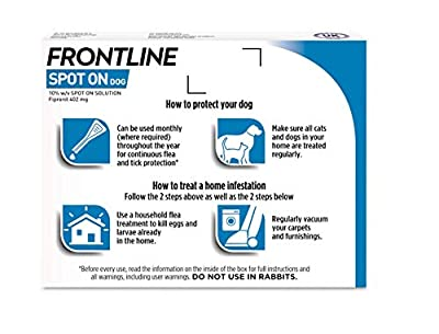 Frontline Spot On Flea and Tick Treatment for XL Dog (40-60kg)