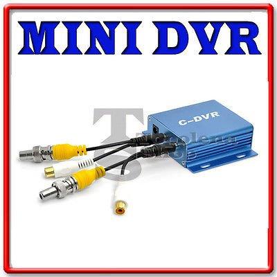 Mini DVR Notebook 1CH Audio Video in Out Aufnahme Karte TF Micro SD telecamer Dvr-karte