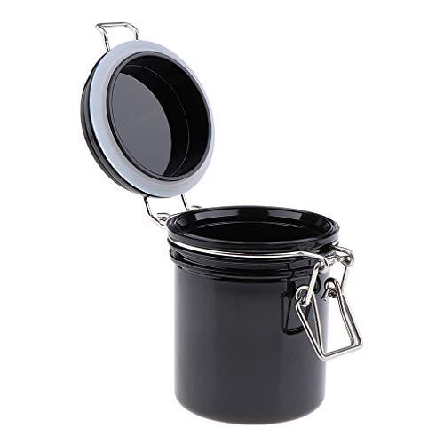 B Blesiya Leer Versiegelte Dosen Topf Kosmetikflasche Behälter Maske Verriegelung Deckel Rund Maske Jar Makeup Wimpern Aufbewahrungsbox