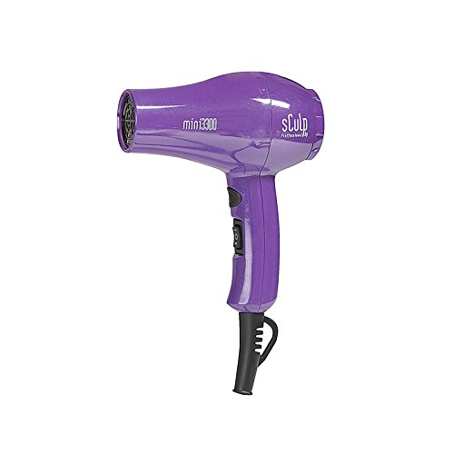 Sculp by Mini 3300 Chroma 1000W - Mini Secador de viaje, color violeta
