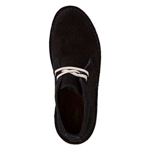 Clarks Originals Desert aerea Suede Boot Black