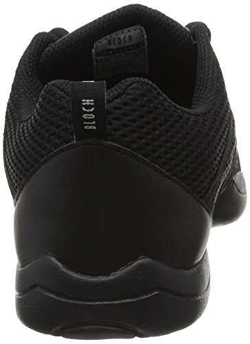 Bloch Criss Cross, Chaussures de Jazz Fille Noir (noir)