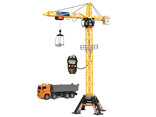 Dickie Toys 203462413 Mega Crane Set