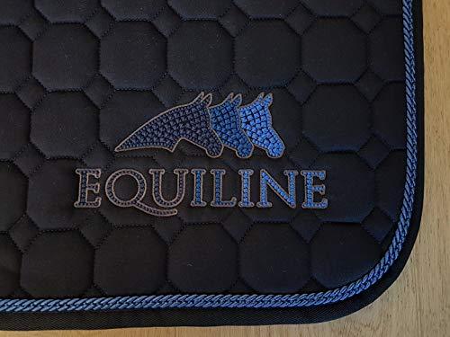 Equiline Schabracke Sprinter Größe VS, Farbe Navy/blau