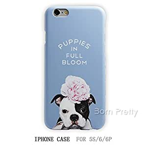 Generic 1Pc Frosted Back Case Cover for iPhone 6/6S/6Plus Creative Cute Big Dog Pattern Ultrathin # 26689(02#(iphone6)