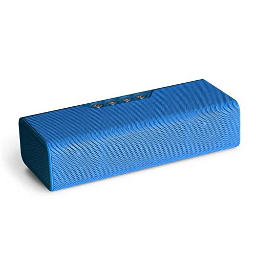 Bluetooth-Lautsprecher Wireless Portable Audio Mobile Power Kombinationskarte Freisprecheinrichtung Radio Subwoofer HIFI Stereo Bluetooth Audio Wireless Bluetooth Audio, Blue