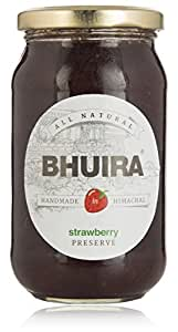 Bhuira Jam Strawberry Preserve - 470g
