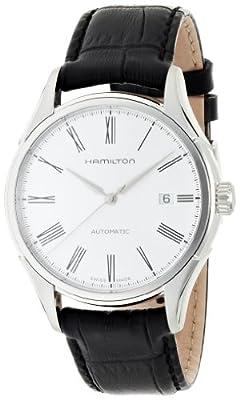 Hamilton H39515754 - Reloj de pulsera hombre, piel, color negro