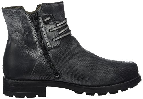 Yellow Cab Devoted W Damen Biker Boots Schwarz (Black)