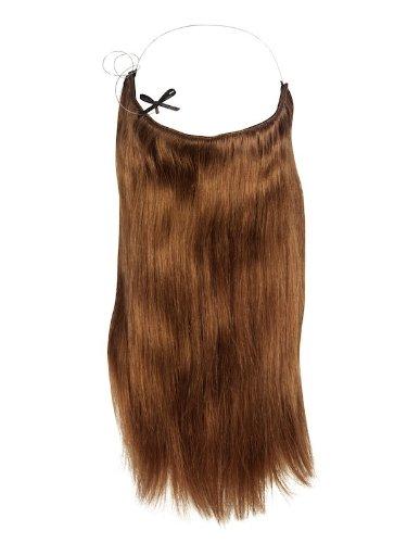 Halo 40,6 cm Extensions de cheveux Châtain clair