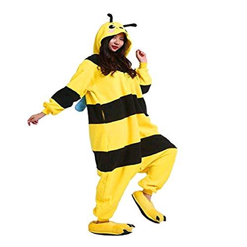 DarkCom Erwachsene Onesies Frauen Pyjamas Sleepsuit Flauschige Kigurumi -