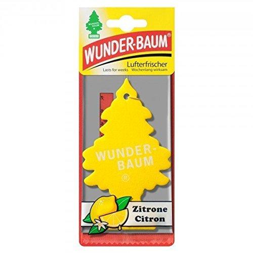Wunder-Baum Lufterfrischer Duftbaum, Duftnoten:Zitrone