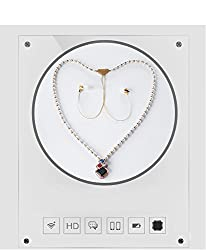 ACID EYE Bluetooth Necklace Headset for Women Teen Girls Hands Free Wireless Headset Woven White Pearls with Tassels Necklace Ear Buds with mic and highest bass ever.
