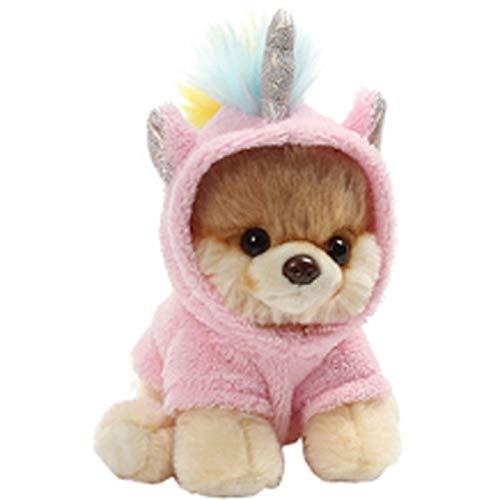 HEMFV World´s süßester Hund Plüschtier, Bär Anzug Plüschtier mit Rucksack Plüschspielzeug Plüschspielzeug Plüschspielzeug Pink Pig Year Maskottchen Ragdoll Cute Doll Girl (Stil : ()