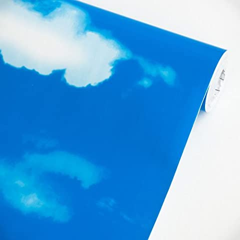 Blue Sky - Self-Adhesive Wallpaper Home Decor