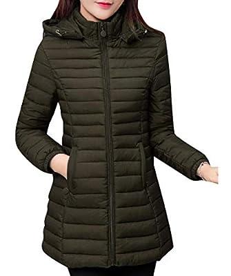 We&VWomen Women Plus-Size Detachable Hood Lightweight Quilted Jacket
