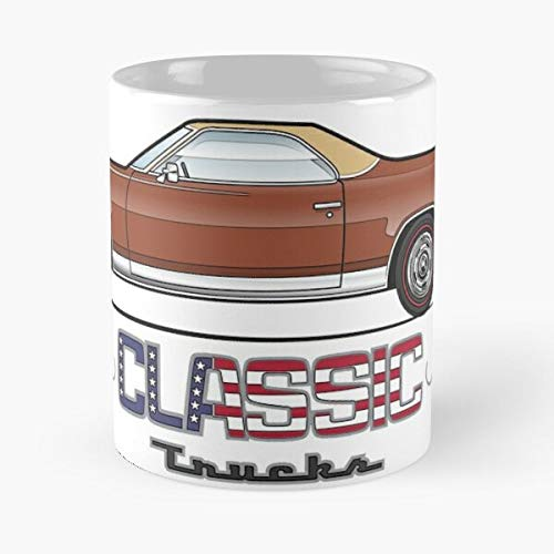 Brown E-l-c-o Classic Mug Best Gift 110z For Your Friends (350 Chevy 1974)