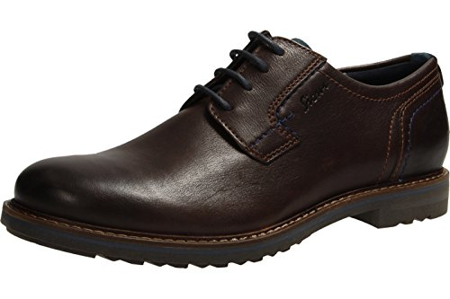 Sioux Envito, Chaussures Lacées Homme Marron
