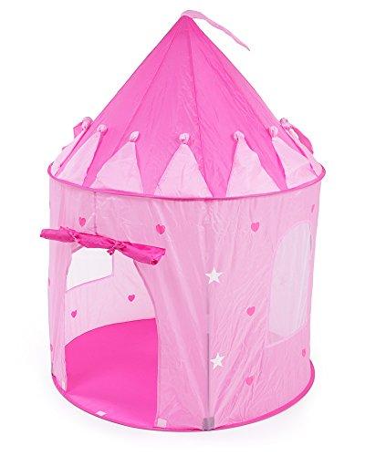 Preisvergleich Produktbild Zelt Prinzessin Kinderzelt Spielzelt Wurfzelt Pop-Up Zelt mit UV-Schutz und Tragetasche