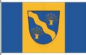 Königsbanner Hochformatflagge Lambrechtshagen - 120 x 300cm - Flagge und Fahne