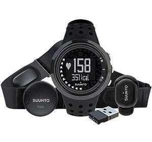 Suunto M5 Running Pack - Reloj deportivo (40 g, Negro, CR2032) de Suunto