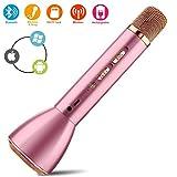 Best Altoparlanti portatili del partito - YYHSND Microfono senza fili Bluetooth Microfono Karaoke, altoparlante Review