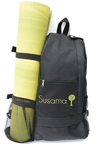 Crossbody Yoga Tasche: Multifunktions Schlaufenrucksack – Passend für die meisten Yoga-Matten – Bestens geeignet für Hot Yoga, Pilates, Fitnessstudio, Krafttraining, Wandern, Klettern, Sport, Laufen und Reisen.