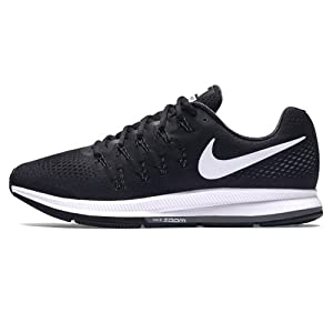 hot sale online 93dc6 2dc3e Nike Air Zoom Pegasus 33, Zapatillas de Running Hombre, Negro (Black White