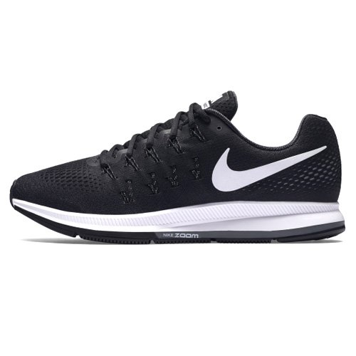 Nike Air Zoom Pegasus 33, Zapatillas de Running Hombre, Negro (Black/White-Anthracite-Cl Grey), 43 EU