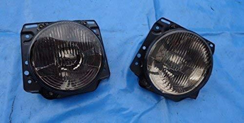 GM ML14616 Scheinwerfer Frontscheinwerfer Streuscheibe, 2 dunkel schwarz