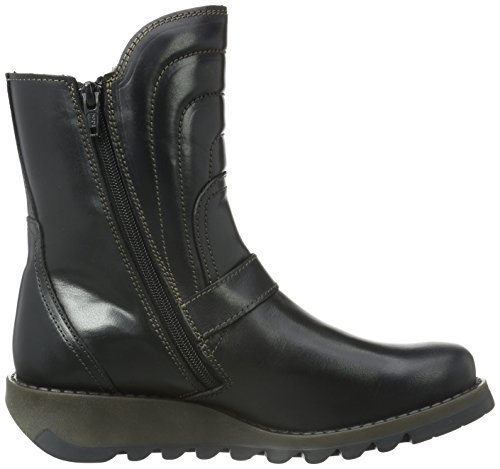 FLY London Damen Sven731fly Chelsea Boots Schwarz (Black 000)