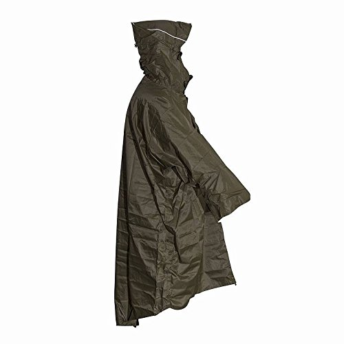 LOWLAND OUTDOOR® Poncho impermeable de lluvia