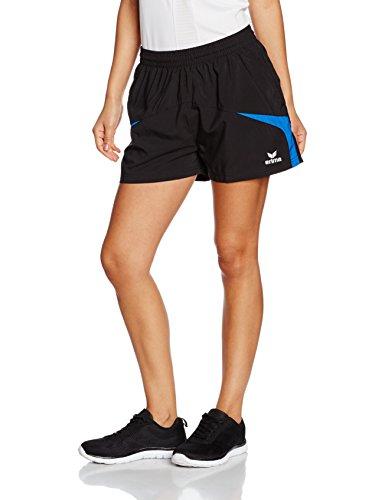 Erima Damen Shorts Razor 2.0, Schwarz/New Royal, 44, 109614