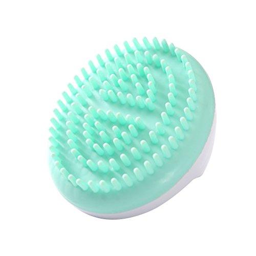 ROSENICE Masaje de la celulitis y mitón anti cepillo para las piernas de los brazos masaje del cuerpo del muslo (verde)