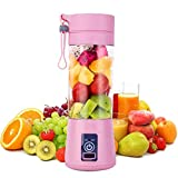 Clomana® Personal Mini Automatic Rechargeable Juicer Bottle Blender for Shakes, Smoothies & Juice