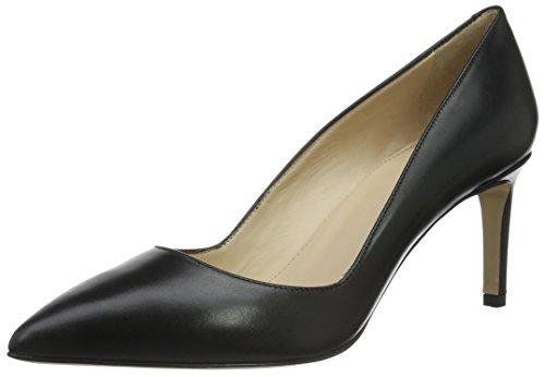 HUGO Damen Hellia 10191370 01 Pumps, Schwarz (Black 001), 40 EU