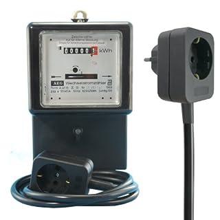 Wechselstromzähler Zwischenzähler 10/40 A. mit 1,5m Zuleitung (max. 9,2 kW))