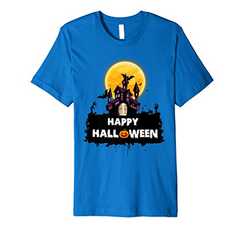 SPOOKY 31. Oktober Happy Halloween Haunted Mansion T-Shirt