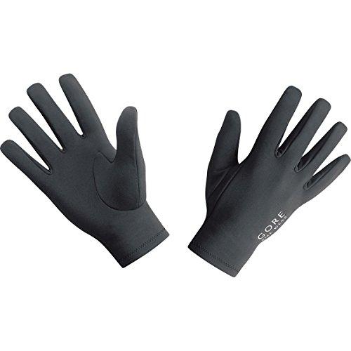 GORE BIKE Wear Herren Unterzieh-Fahrradhandschuhe, GORE Selected Fabrics, UNIVERSAL Undergloves, Größe 8, Schwarz, GUNIUN (Stretch-handschuhe Weiche)