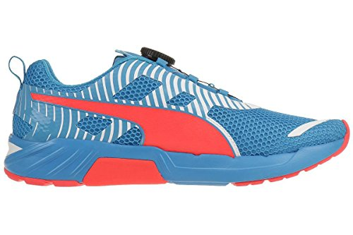 Puma Speed 300 S Disc Adulte mixte Chaussures de course Atomic Blue/Red Blast/White