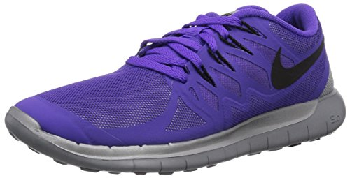 Nike Free 5.0 Flash 685169-500 Damen Laufschuhe Training Violett (Hypr Grp/Blk-Rflct Slvr-Wlf Gr 500) 41 (Blk-training-schuhe)