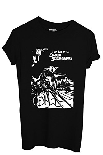 T-Shirt A TIM BURTON FILM EDWARD SCISSOR HANDS - FILM by iMage Dress Your Style - Donna-L-NERA